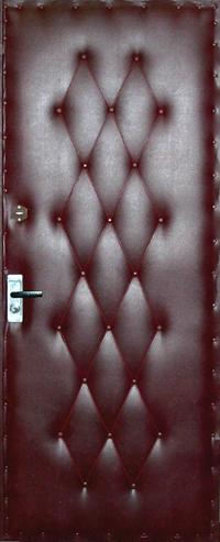 Как обшить входные двери своими руками